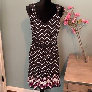 WHBM Silk Sleeveless Dress